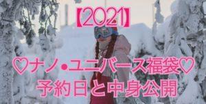 2021ナノユニバース 福袋予約日と中身公開
