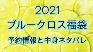 ブルークロス福袋【2021年】予約日や過去中身アイテムのネタバレ公開