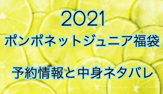 ポンポネットジュニア福袋2021《予約と中身ネタバレを公開》