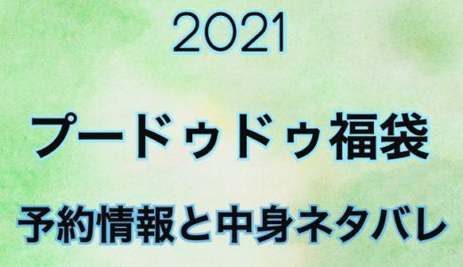 【2021】プードゥドゥ福袋の予約開始日や過去中身をネタバレ